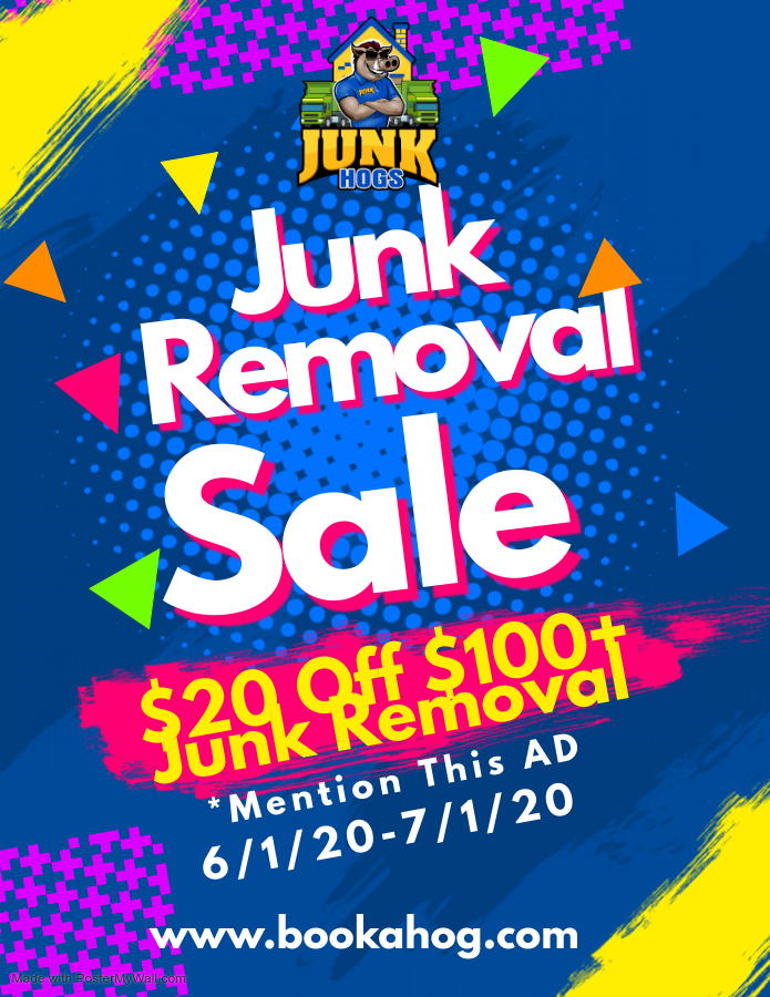Junk hogs removal and hauling